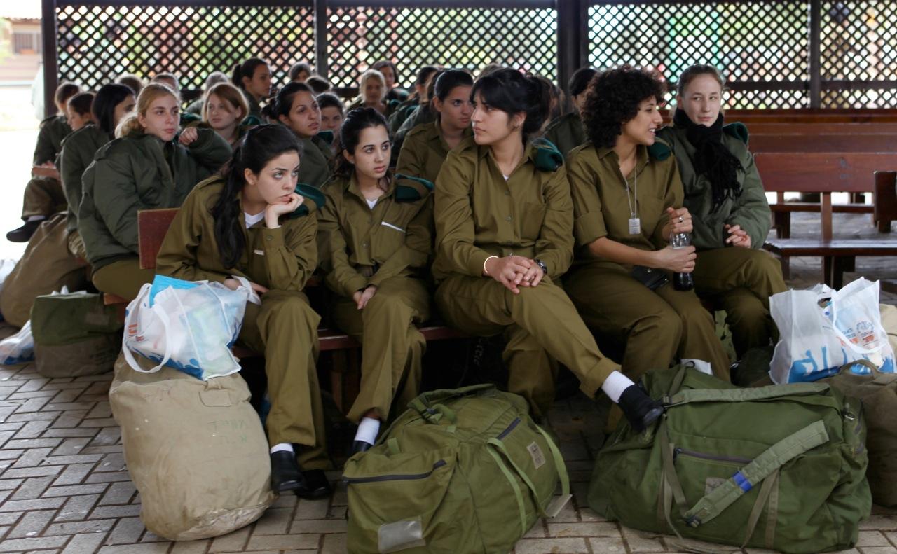 Nackte Frauen von Israel