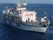 Le Sfendoni 8000, un bateau de l'ECESG qui avait participé à la flottille de 2010. Photo : IHH