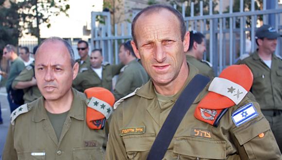Le Général de Division Eyal Eisenberg