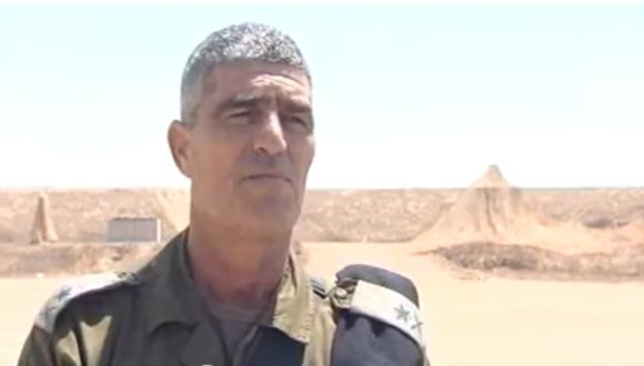 Le Commandant du Commandement de la Région Sud, le Général de Brigade Tal Russo