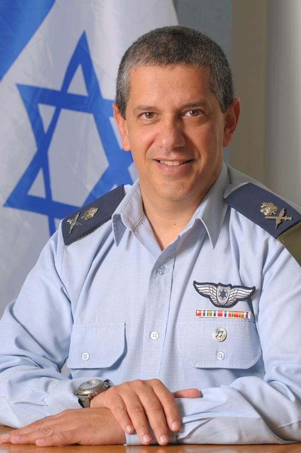 Le Général Amir Esher - Nouveau Commandant de l'armée de l'air israélienne.