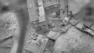 Cible terroriste de l'armée de l'air à Gaza