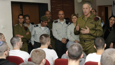 Le Chef d'État-major Benny Gantz