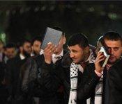 Mariage en plein air à Gaza