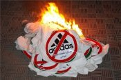 Hamas boycott Adidas
