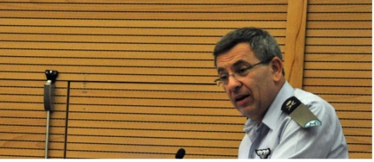Ido Nechushtan, commandant sortant de l'Aviation israélienne