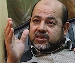 Mousa Abu Marzook lors d'une interview en avril 2012.