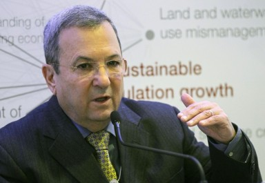 Ehud Barak, aujourd'hui ministre de la Défense, et commandant de la Sayeret Matkal en 1973.
