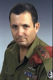 Le Lieutenant-général Ehud Barak