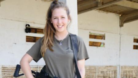 Mai Karen, instructrice de tir de Tsahal